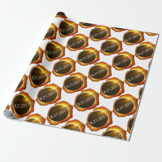 Total-Solar-Eclipse2 Wrapping Paper