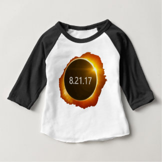 Total-Solar-Eclipse3 Baby T-Shirt