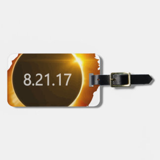 Total-Solar-Eclipse3 Luggage Tag