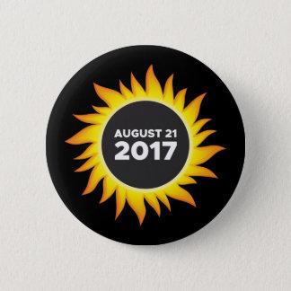 Total Solar Eclipse - 08.21.2017 6 Cm Round Badge