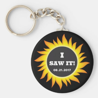 Total Solar Eclipse - 08.21.2017 Key Ring