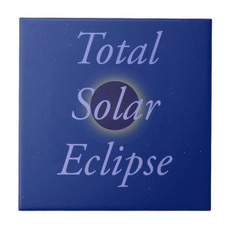 Total Solar Eclipse 2017 Ceramic Tile
