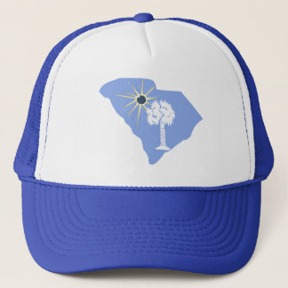 Total Solar Eclipse 2017 Columbia, SC Trucker Hat