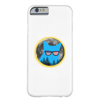 Total Solar Eclipse 2017 Funny Cat eclipse Barely There iPhone 6 Case