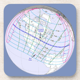 Total Solar Eclipse 2017 Global Path Coaster
