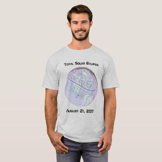 Total Solar Eclipse 2017 Global Path T-Shirt