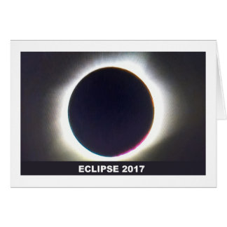 Total Solar eclipse 2017 Greeting Cards