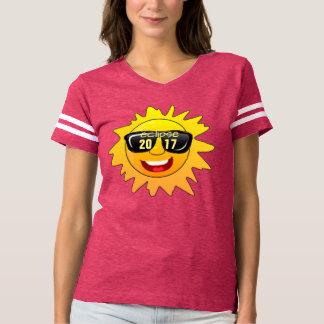 total solar eclipse 2017 hipster t-shirt design