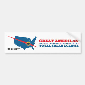 Total Solar Eclipse - 2017 - I saw it! Bumper Sticker