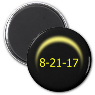 Total Solar Eclipse 2017 Magnet