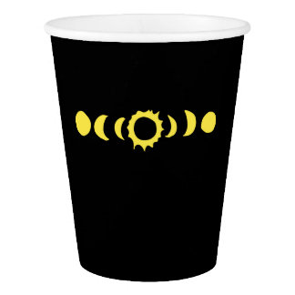 Total Solar Eclipse 2017 Paper Cup
