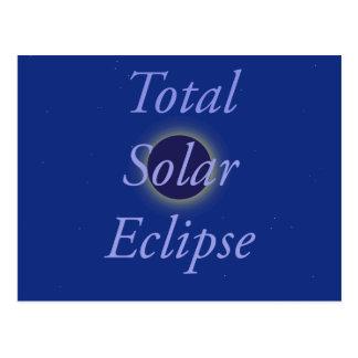 Total Solar Eclipse 2017 Postcard