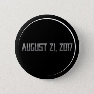 Total Solar Eclipse 2017 Round Button