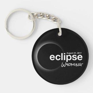 Total Solar Eclipse 2017 - Wyoming Key Ring