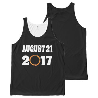 Total Solar Eclipse August 21 2017 All-Over Print Singlet