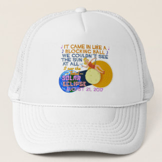 Total Solar Eclipse August 21 2017 American Funny Trucker Hat
