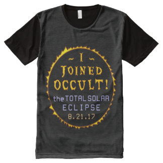 Total Solar Eclipse August 21 2017 Funny Occult All-Over Print T-Shirt