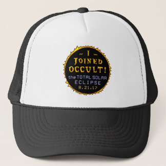Total Solar Eclipse August 21 2017 Funny Occult Trucker Hat