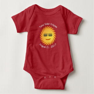 Total Solar Eclipse Baby Bodysuit