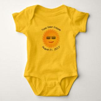 Total Solar Eclipse Baby Bodysuit