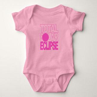 Total Solar Eclipse Baby Pink Series Baby Bodysuit