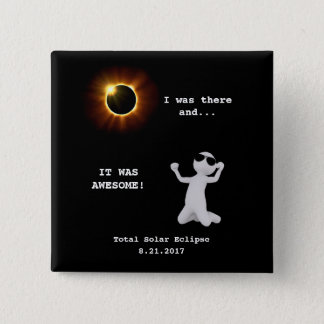 Total Solar Eclipse Button
