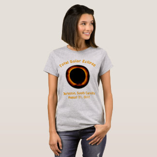 Total Solar Eclipse (  Charleston, South Carolina) T-Shirt