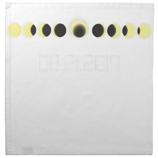 Total Solar Eclipse Cycle Napkin