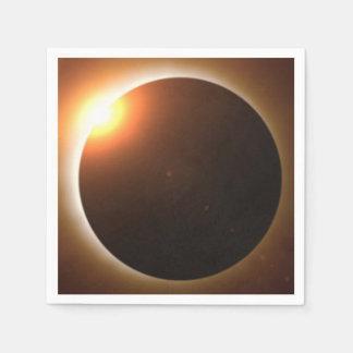 Total Solar Eclipse Disposable Serviette