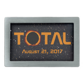 Total Solar Eclipse Event Belt Buckle