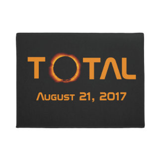 Total Solar Eclipse Event Doormat