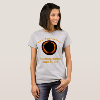 Total Solar Eclipse ( Grand Island, Nebraska ) T-Shirt