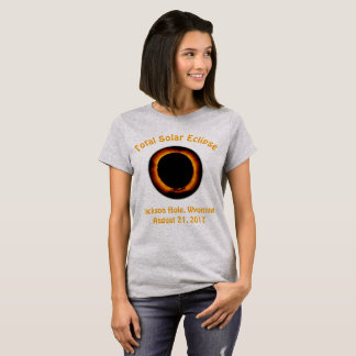 Total Solar Eclipse ( Jackson Hole, Wyoming ) T-Shirt