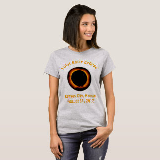 Total Solar Eclipse (  Kansas City, Kansas ) T-Shirt