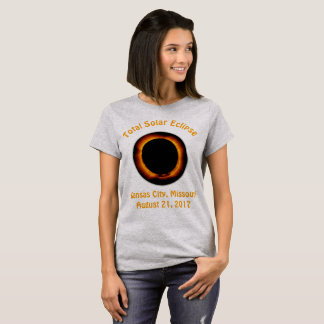 Total Solar Eclipse (  Kansas City, Missouri ) T-Shirt