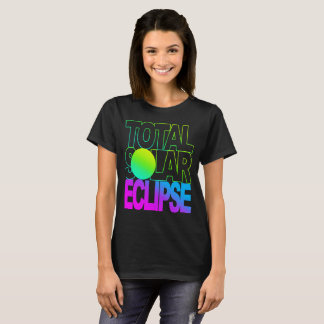 Total Solar Eclipse Kids Trop  Series T-Shirt