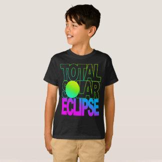 Total Solar Eclipse Kids Trop Series T-Shirt