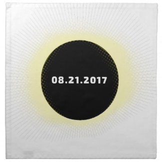 Total Solar Eclipse Napkin