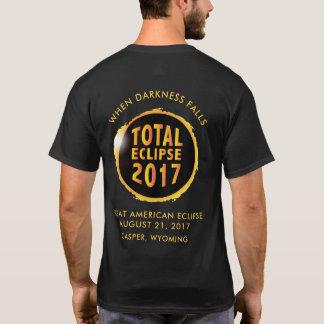 Total Solar Eclipse of 2017 Darkness Falls T-Shirt