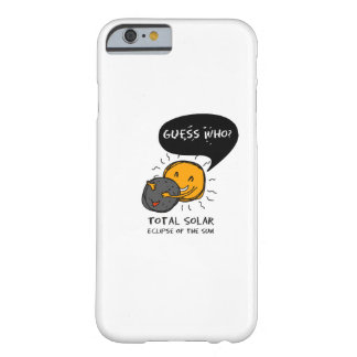 Total Solar Eclipse of the Sun  Guess Who? Kids Barely There iPhone 6 Case