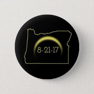 Total Solar Eclipse Oregon 2017 6 Cm Round Badge