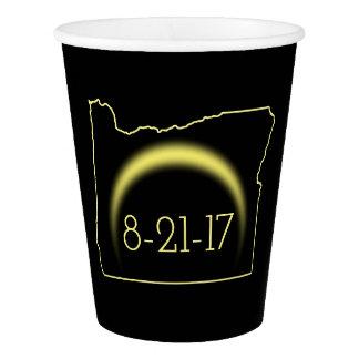 Total Solar Eclipse Oregon 2017 Paper Cup