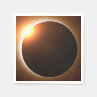 Total Solar Eclipse Paper Napkin