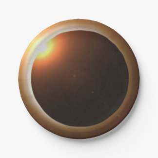 Total Solar Eclipse Paper Plate