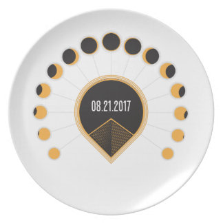 Total Solar Eclipse Plate
