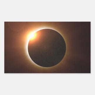 Total Solar Eclipse Rectangular Sticker
