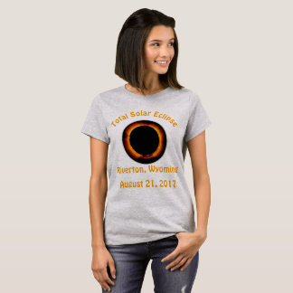 Total Solar Eclipse (  Riverton, Wyoming ) T-Shirt