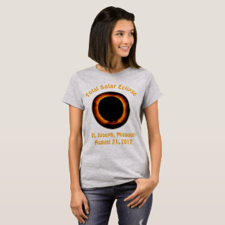 Total Solar Eclipse (  St. Joseph, Missouri ) T-Shirt