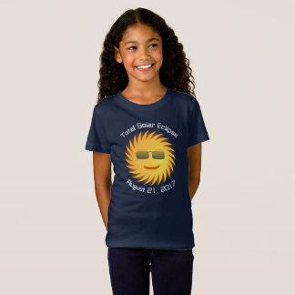 Total Solar Eclipse T-Shirt - Navy