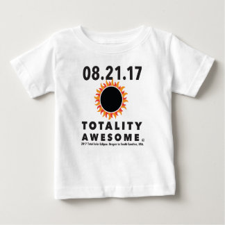 """Total Solar Eclipse """"Totality Awesome"""" Tee shirt"""
